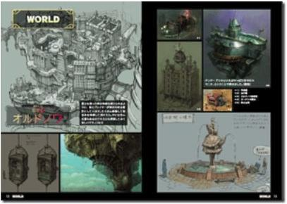 concept art: gravity rush
