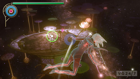 screenshots: gravity rush