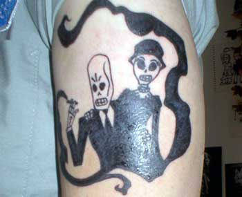 gamer-tattoo: grim fandango