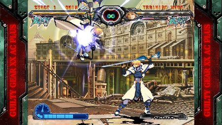 screens: guilty gear xx accent core plus r