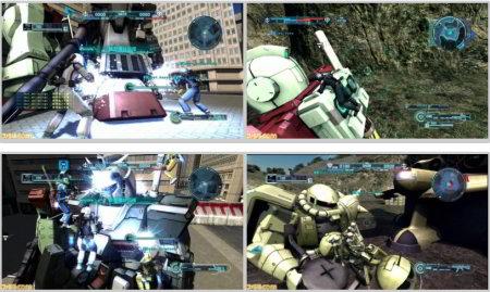 screens: gundam battle operation