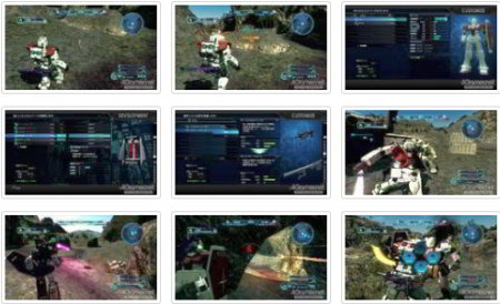 screens: gundam battle operation
