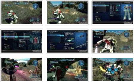 screenshots (II): gundam: battle operation