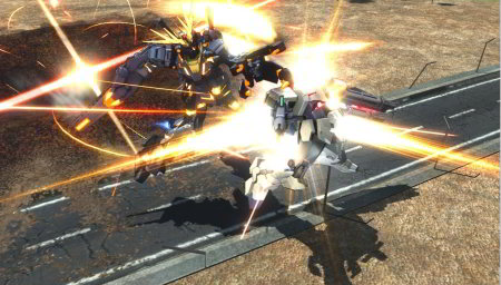screens: gundam extreme vs. full boost banshee