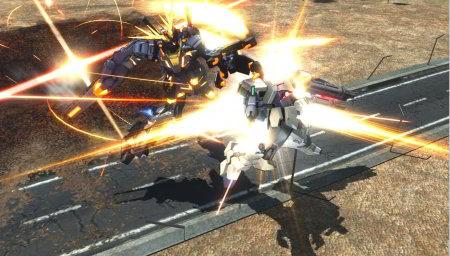 screens: gundam extreme vs. full boost banshee