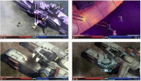 screenshots: gundam mokuba no kiseki