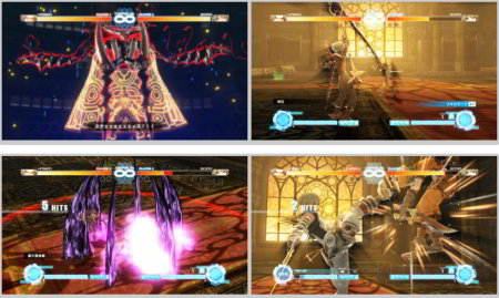 screenshots: .hack//versus