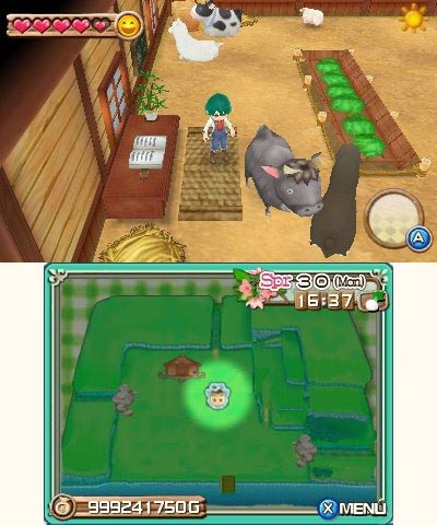 screens: harvest moon: a new beginning