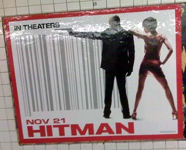 hitman: posterverbot