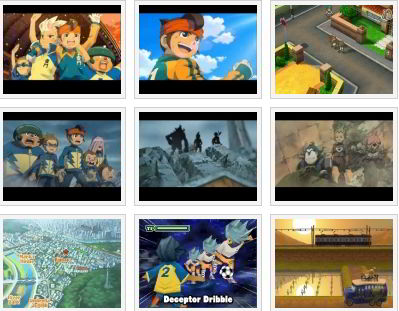 screenshots: inazuma eleven 2