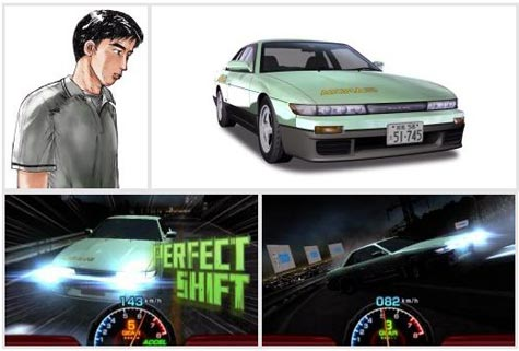 screens: initial d: perfect shift online