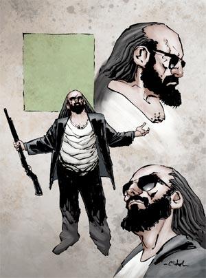 preview: kane & lynch comic