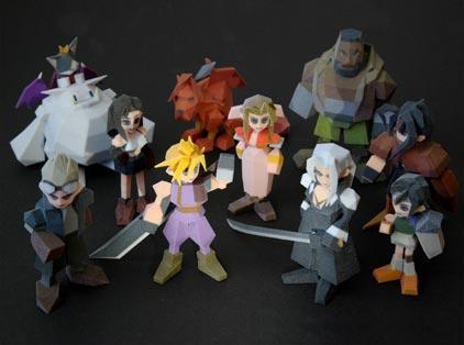 kotobukiya: final fantasy VII aus dem 3D-drucker