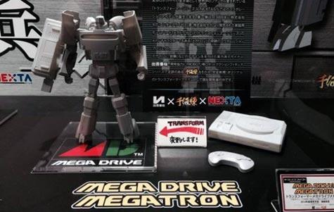 kotobukiya: mega drive-megatron