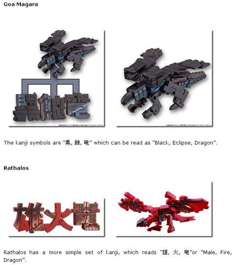 kotobukiya: monster-hunter-kanji