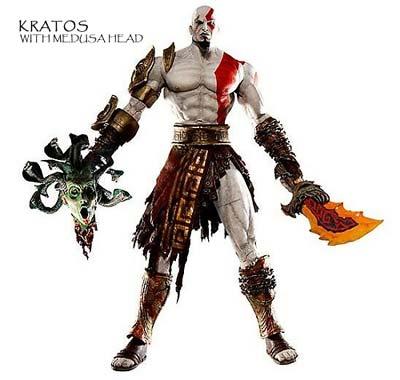 kratos: actionfigur II