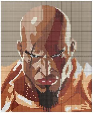 kratos: stickerei