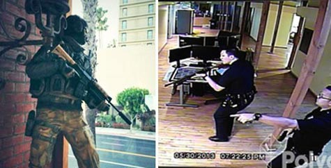 special: la police vs call of duty