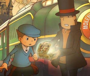 screens: professor layton 2 schatulle