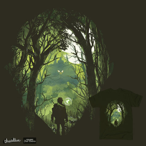 artwork: legend-of-zelda-shirt