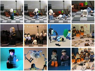 special: lego vs. half-life 2