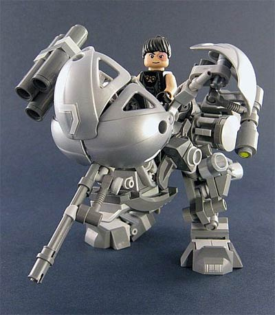 lego: lost planet mecha