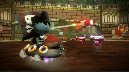 screens: little big planet karting