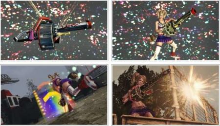 screenshots (II): lollipop chainsaw