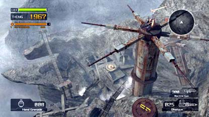 screenshots: lost planet map pack
