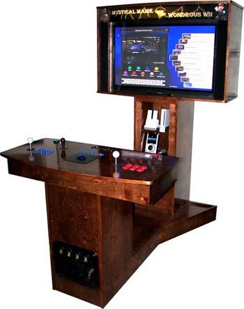 mahogany arcade