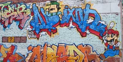 super mario: graffiti