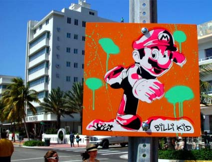 mario: in miami gesichtet