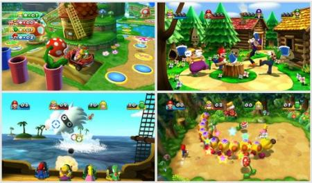 screens: mario party 9