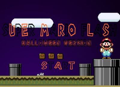 super mario: halloween-edition
