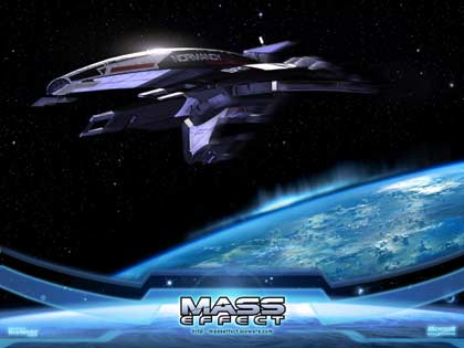 screenshots: mass effect