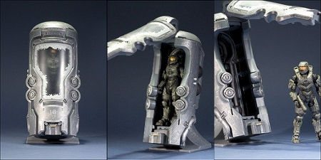 kotobukiya: master chief cryotube