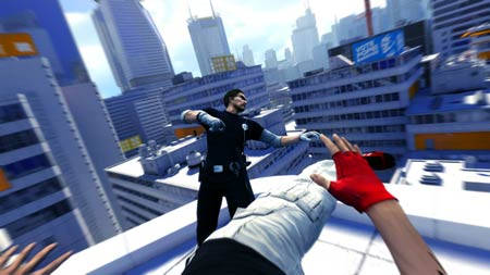 mirrors edge nahkampf