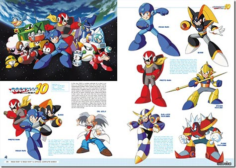 artbook: megaman zum 25ten