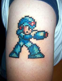 megaman-tattoo