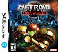 metroid prime hunters: cover