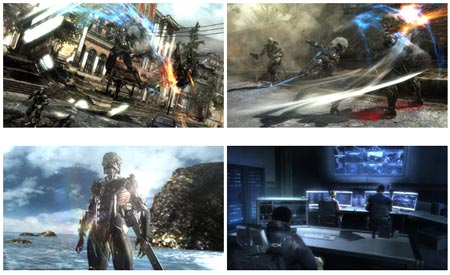 screenshots (IV): metal gear rising: revengeance