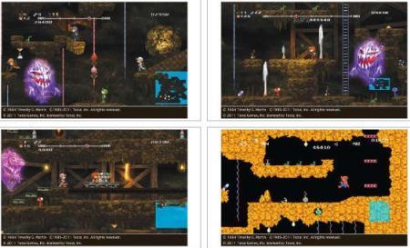 screens: minna de spelunker