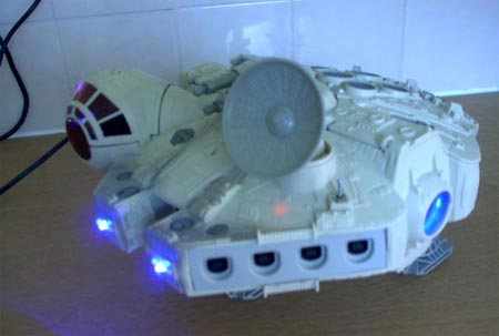 modding: star wars falcon dreamcast