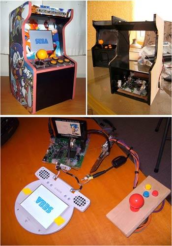 modding: mini-arcade