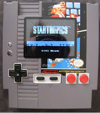modding: nes in kassette