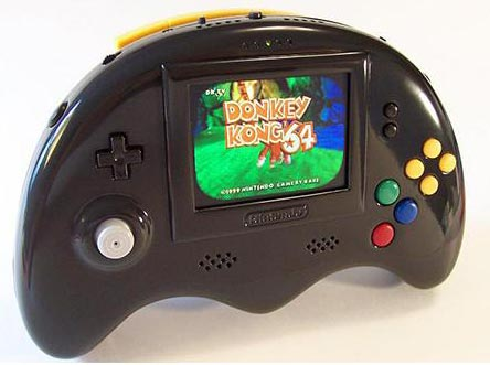 modding: portable n64