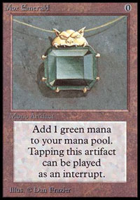 magic p9 - mox emerald