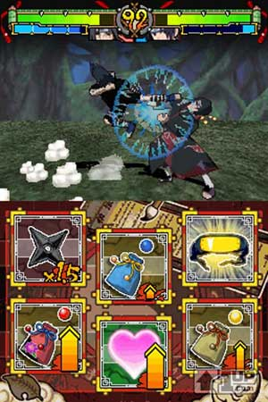 screenies: naruto - rise of the ninja