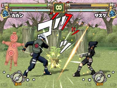screenshots: naruto