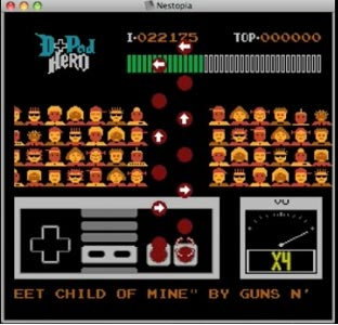 nes: 8bit-guitar-hero